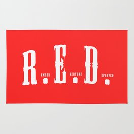 RED(R.E.D.) Rug
