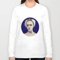 black swan Long Sleeve T-shirts featuring Black Swan by Jethro Lacson