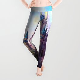FAIRY FANTASY CASTLE Leggings