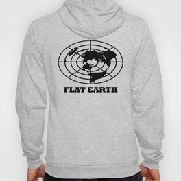 Flat Earth (Black) Hoody