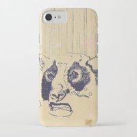 lip iPhone & iPod Cases featuring Bear Lip  by Fox Carpenter