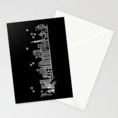 San Francisco, California City Skyline Stationery Cards