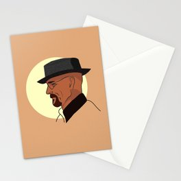 Heisenberg At Sunset Stationery Cards