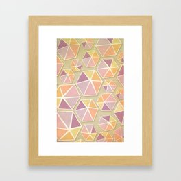 Gemstone Love Framed Art Print