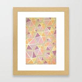Gemstone Love Framed Art Print