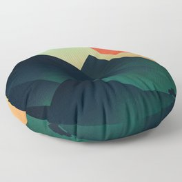 World to see Floor Pillow