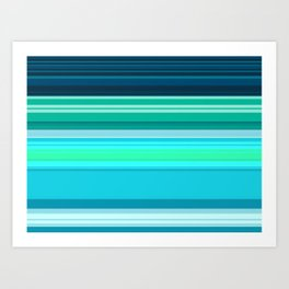 Surfing Season Art Print