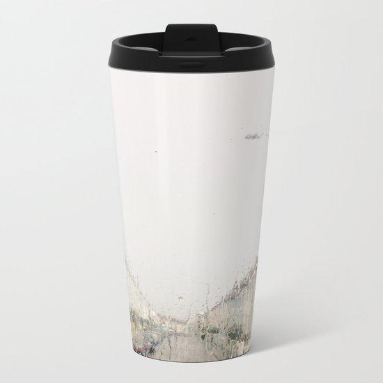 Rainy Sunday Metal Travel Mug