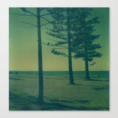 Port Macquarie Polaroid Canvas Print