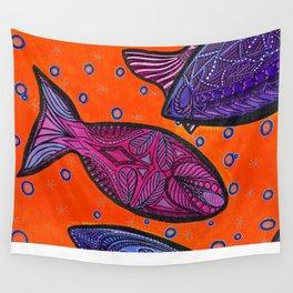 FISH3 Wall Tapestry