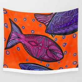 FISH3 Wall Tapestry