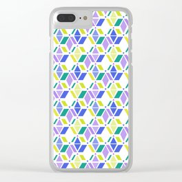 Fresh , retro , abstract , geometric Clear iPhone Case