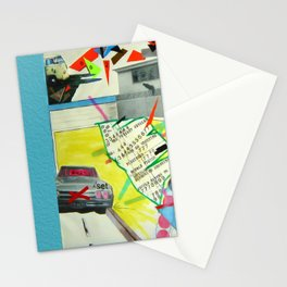 Collage 444 Stationery Cards