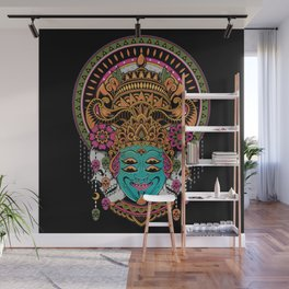 The Mask Dancer Wall Mural