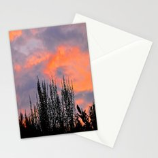 Sunset Silhouettes Stationery Cards