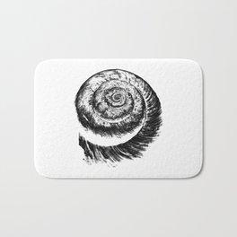 snail abstract I Bath Mat
