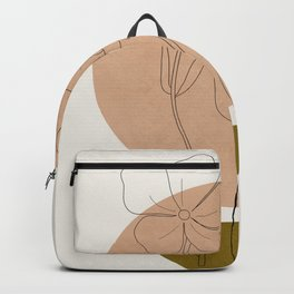 Minimalist Geometric Art IV Backpack