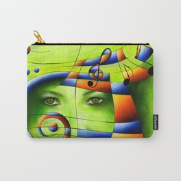 Hispanissia - painted music Carry-All Pouch