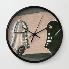 Shadow Wall Clock