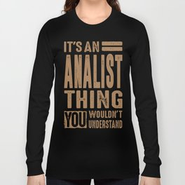 Accountant - Funny Job and Hobby Long Sleeve T-shirt