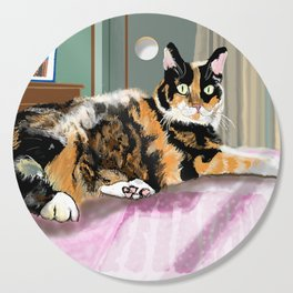 Cali Q Kitten Cutting Board