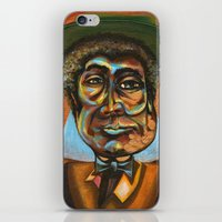 "louis armstrong iPhone & iPod Skins featuring Louis ""Pops"" Armstrong 