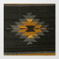 kilim Canvas Prints featuring wool kilim by Storm + Stress