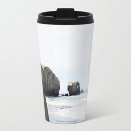 Dunedin beach - New Zealand Travel Mug