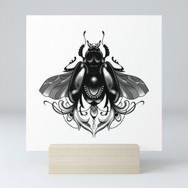 LACE BEETLE Mini Art Print