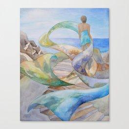 Dream Scarf Canvas Print