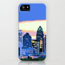 Charlotte - Pixel World iPhone Case