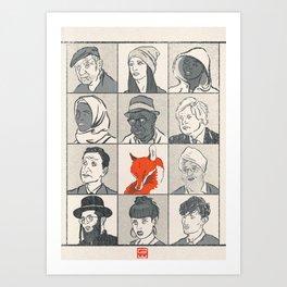 Londoners Art Print