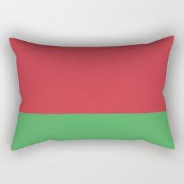 Belarus Flag Rectangular Pillow