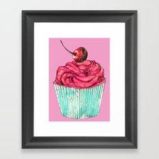 Creative Cupcake... Framed Art Print