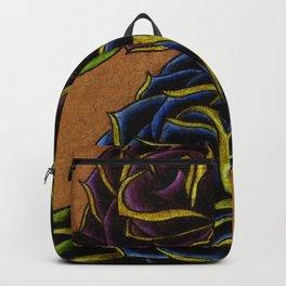 Bold, Elegant Roses Tattoo Design Backpack