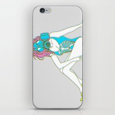 The Last Girl in the World ( Gas Mask Pin-up ) iPhone & iPod Skin
