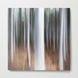 Abstract Trees Metal Print