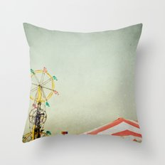 Summer Fair Throw Pillow