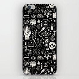 Curiosities: Bone Black iPhone Skin