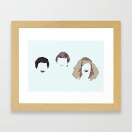 Hairaholics Framed Art Print