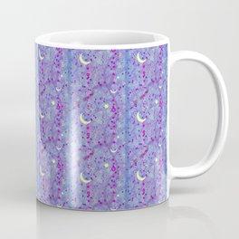 Crescent Moon and Hot Pink Stars Coffee Mug