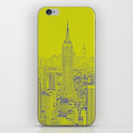 Empire State - Green iPhone Skin
