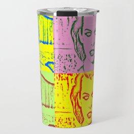 Milla Jovovich Pop Art V Travel Mug
