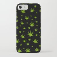 weed iPhone & iPod Cases featuring Weed Weed Weed by Spyck