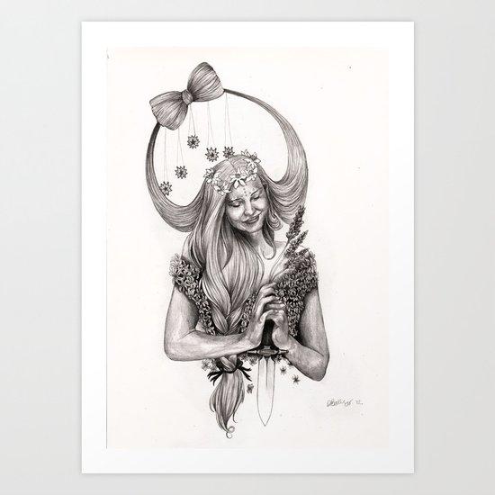 V I R G O Art Print