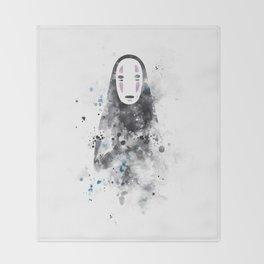 No Face Throw Blanket