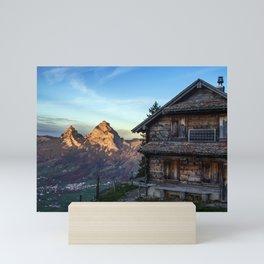 Swiss Hut Mini Art Print