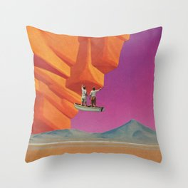 Of a Rare and Splendid Odyssey Throw Pillow