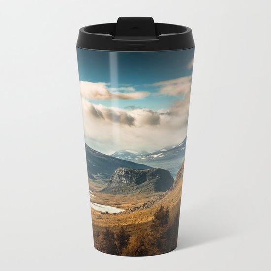 Brown Mountain Metal Travel Mug