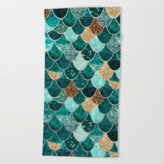 REALLY MERMAID Beach Towel